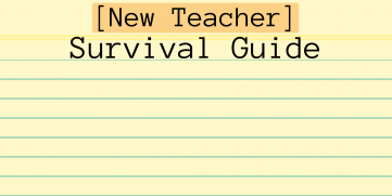 Dear New Teachers: Tips and Tricks for Surviving the School Year