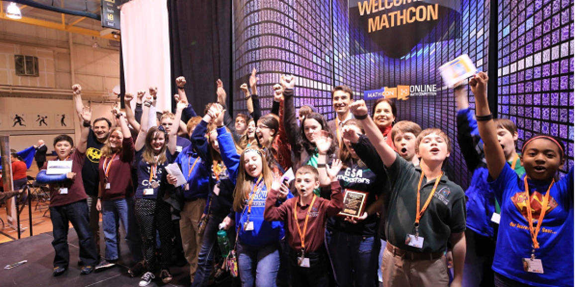 MathCON for 5th-12th grade students has gone national!