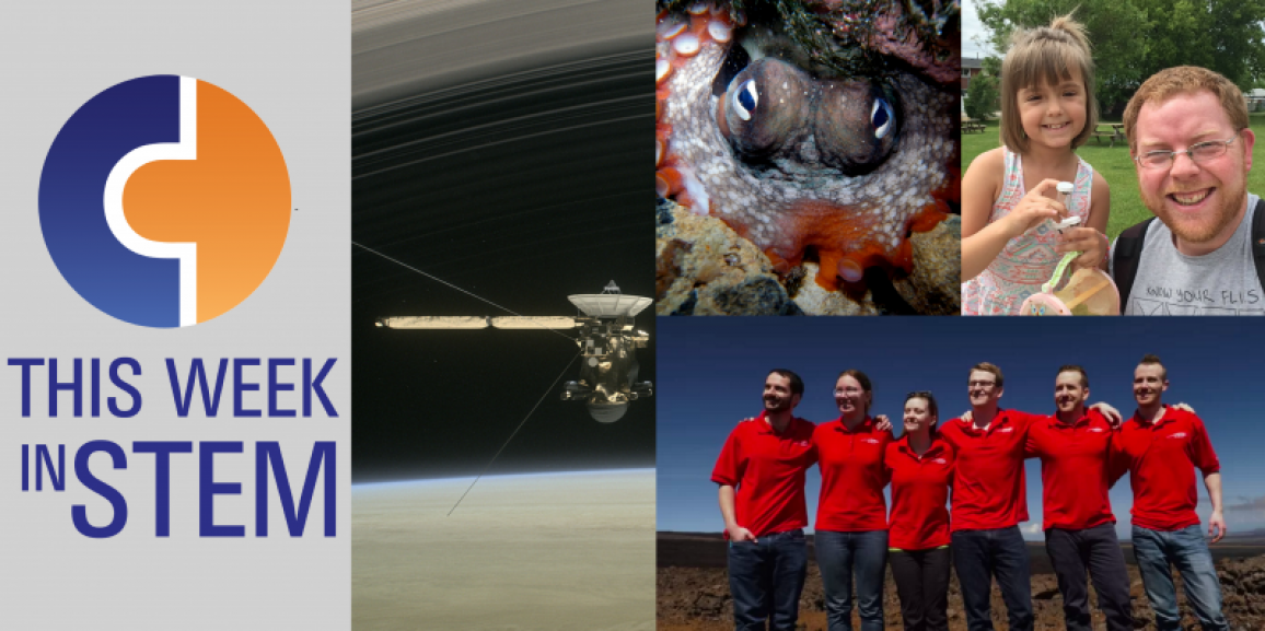 This Week in STEM: Goodbye Earth, Hello Mars and Octlantis