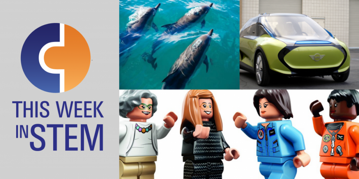 This Week in STEM: Underwater Society and Women of NASA LEGOs