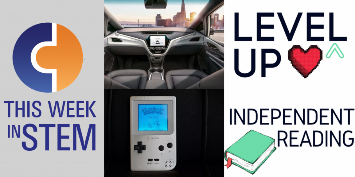 This Week in STEM: New Cars, Old Game Boys, and Gamified Reading
