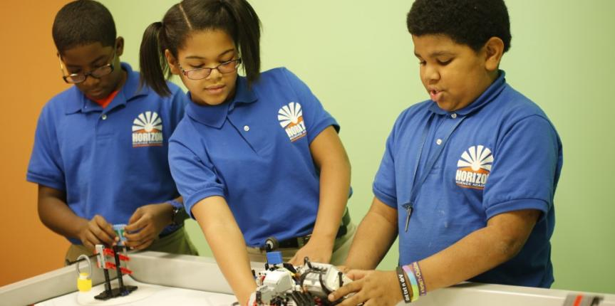 Technology + Service = STEM on the Ground