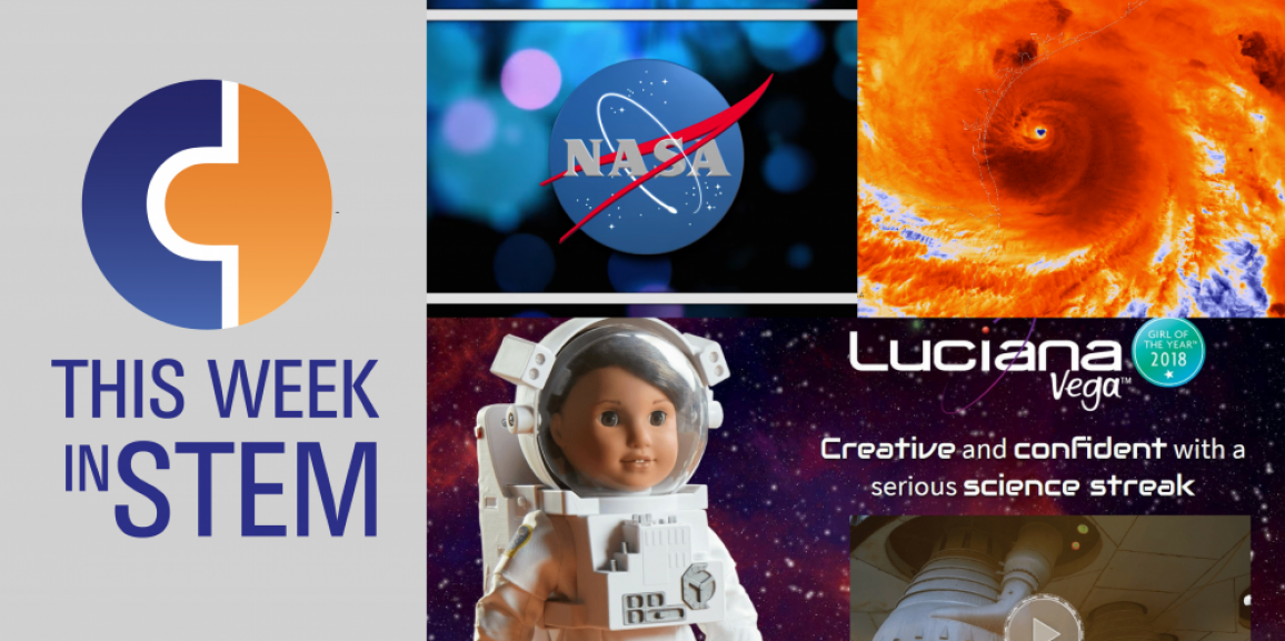This Week in STEM: New Year, New Horizons in STEM