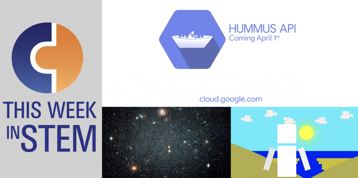This Week in STEM: April Fools' Day and a New Space Discovery