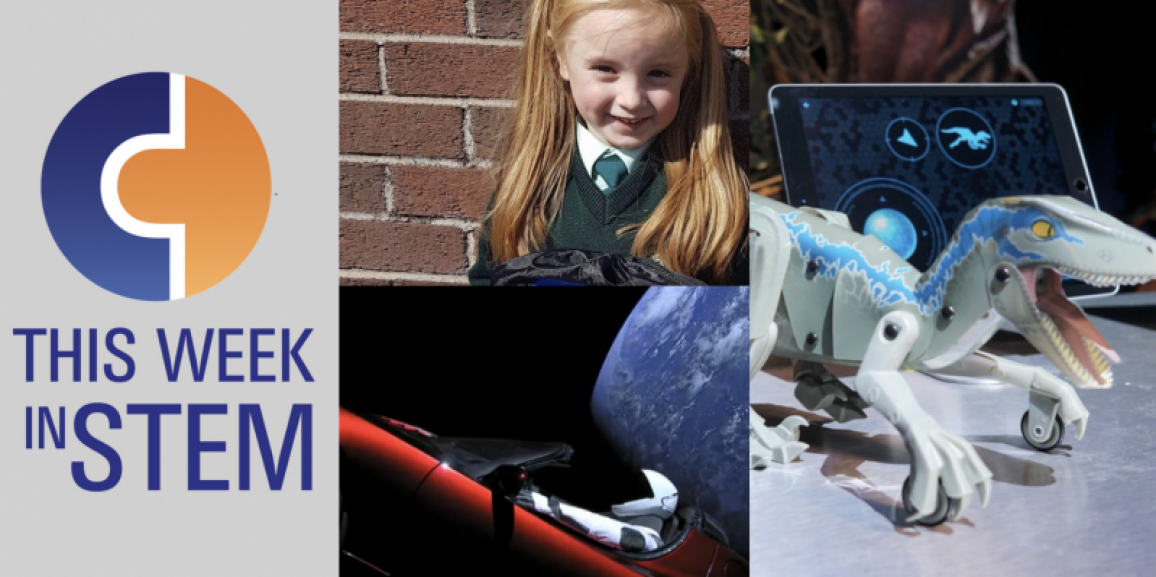 This Week in STEM: Robot Dinosaurs and Flying Space Cars