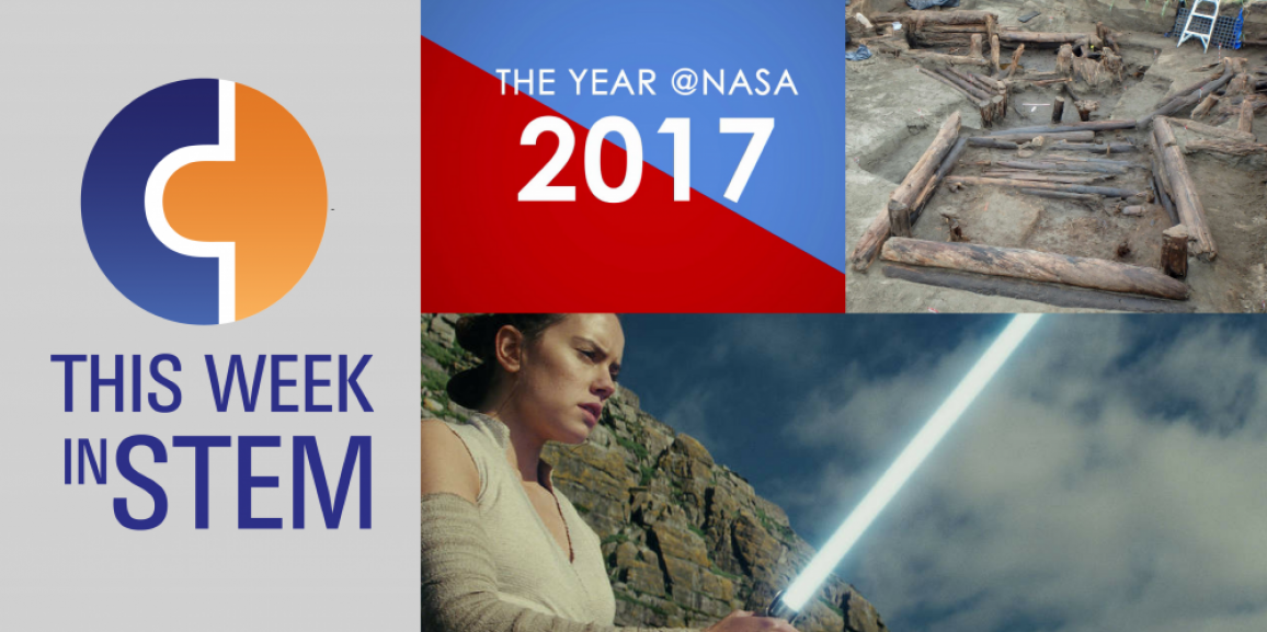 This Week in STEM: Star Wars in Space and the Year of NASA