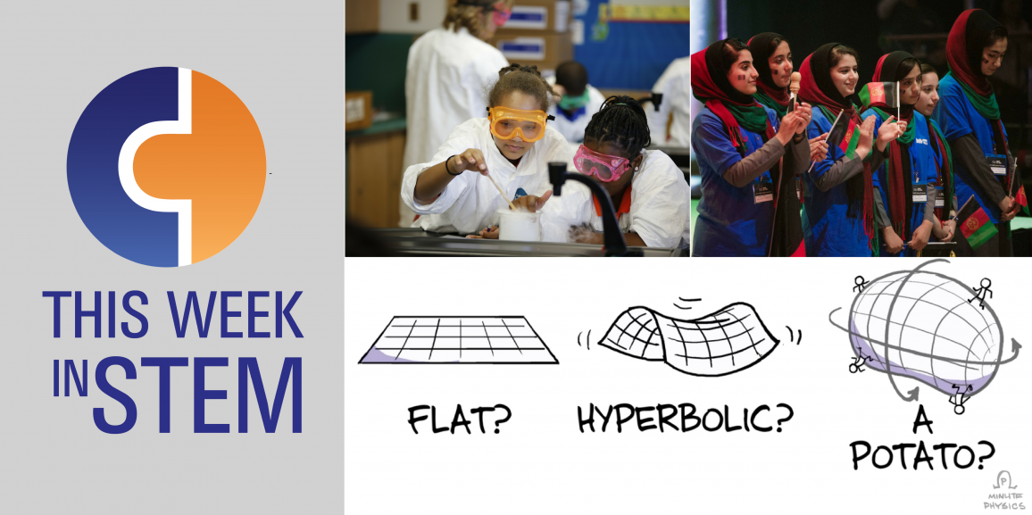 This Week in STEM: Space Potatoes and Girls in STEM