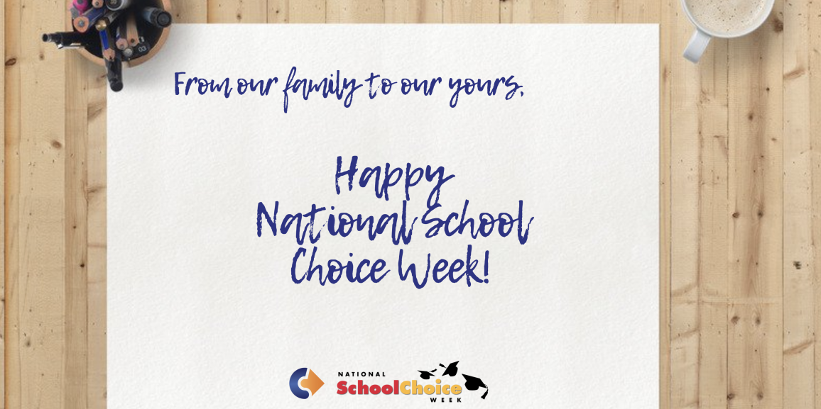 Celebrating National School Choice Week