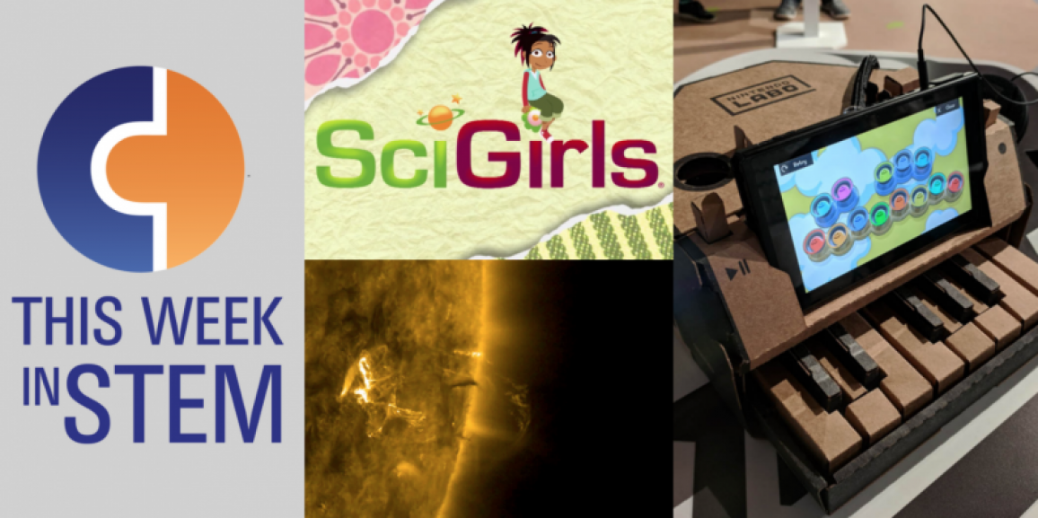 This Week in STEM: SciGirls and Cardboard STEM Games