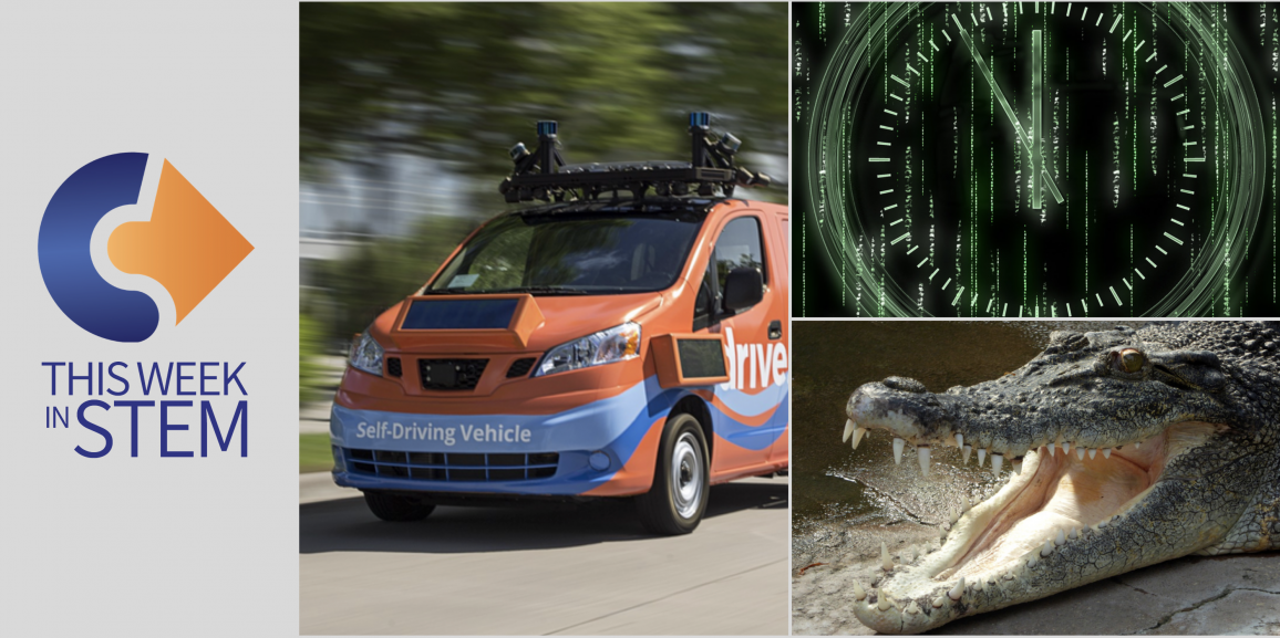 This Week in STEM: Do Crocodiles like Classical Music?