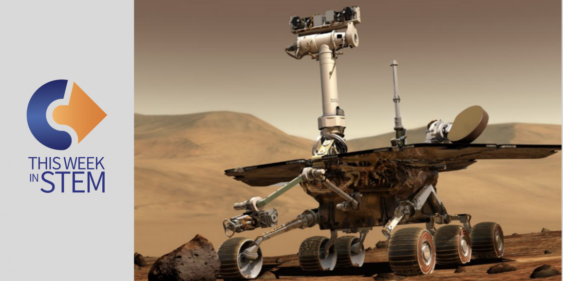 This Week in STEM: Remembering Oppy