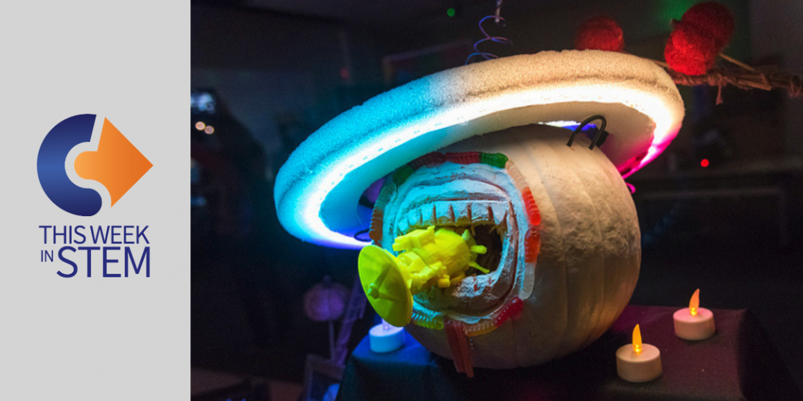This Week in STEM: NASA Pumpkins and the Math of Laughing
