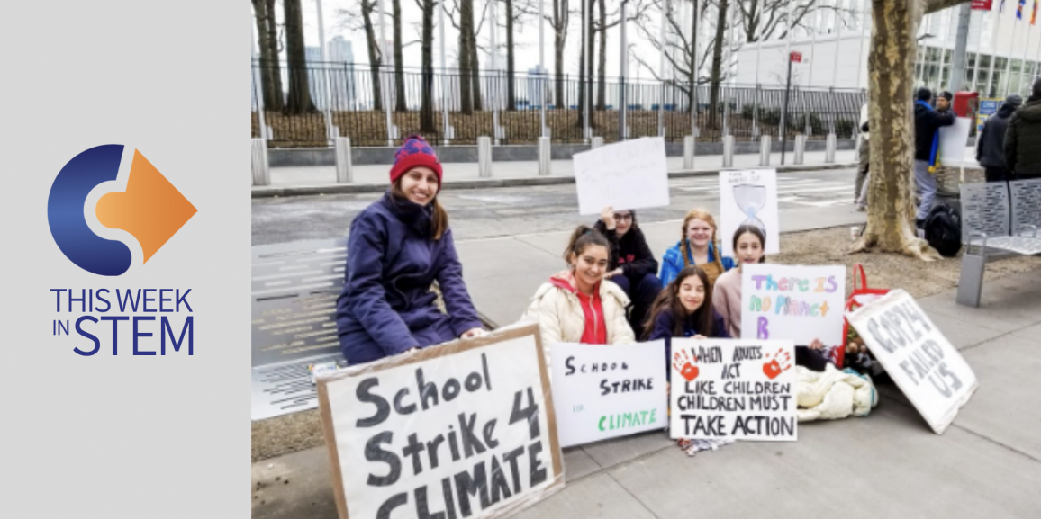 This Week in STEM: On Strike for the Earth