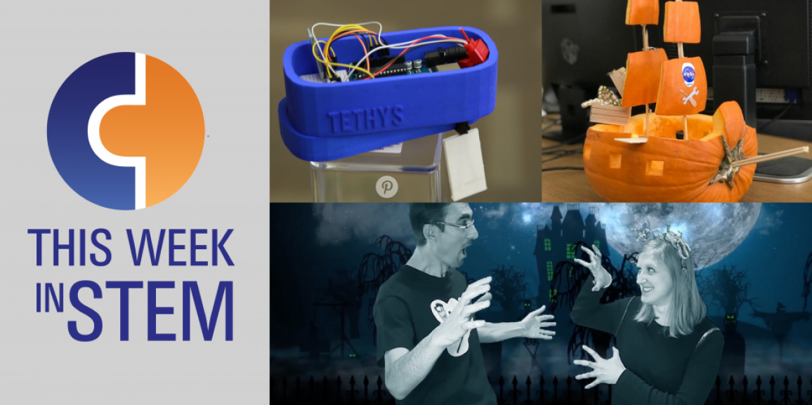 This Week in STEM: Spooky Math and Kid Scientists