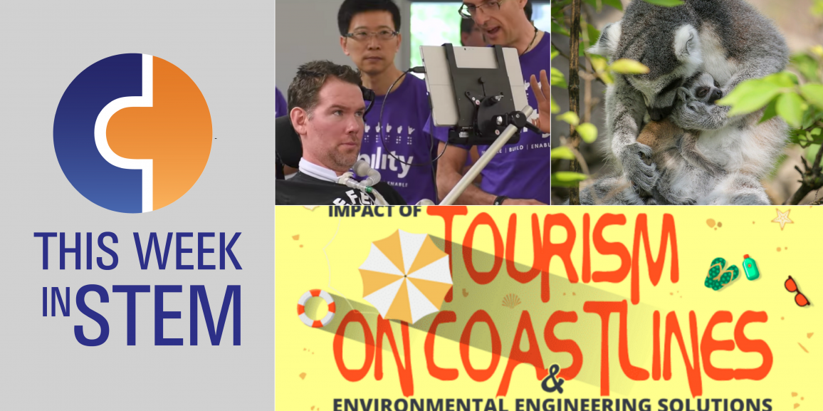 This Week in STEM: Making a Difference through Zoology, Technology, and Civic Engineering